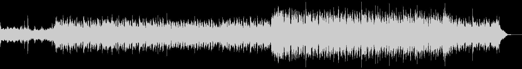 ケルト・アイルランド民謡的なBGMの未再生の波形