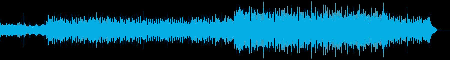 ケルト・アイルランド民謡的なBGMの再生済みの波形