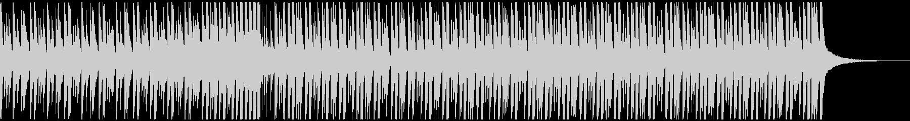 ハッピーデイ(60秒)の未再生の波形