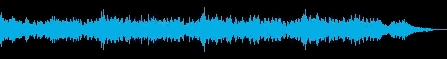 ホラーな囁きのテクスチャIDMの再生済みの波形