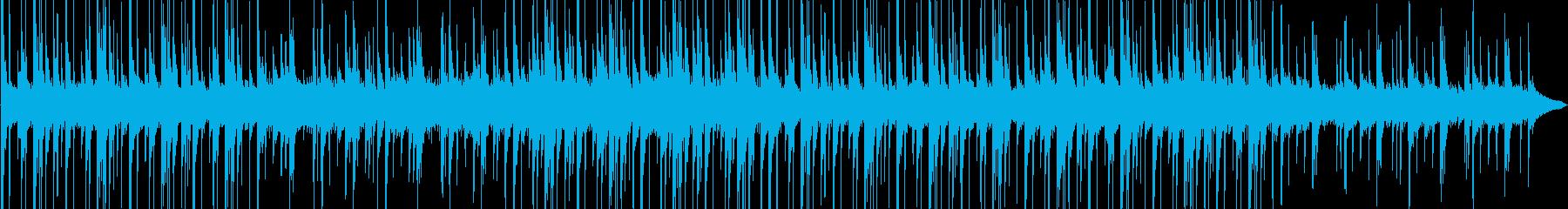 和風なアートミュージアムのBGMの再生済みの波形