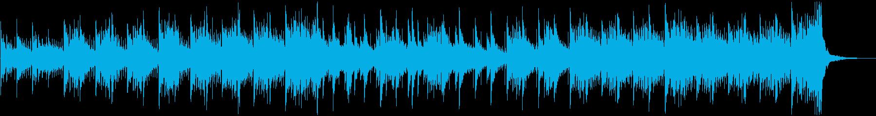 RPGのフィールド場面に合う幻想的な曲の再生済みの波形