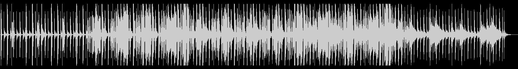 鍵盤ハーモニカが印象的な日常系BGMの未再生の波形