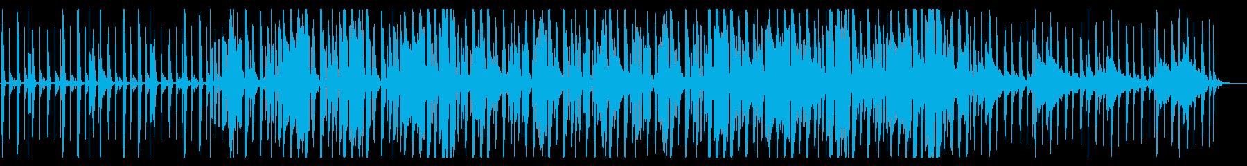鍵盤ハーモニカが印象的な日常系BGMの再生済みの波形