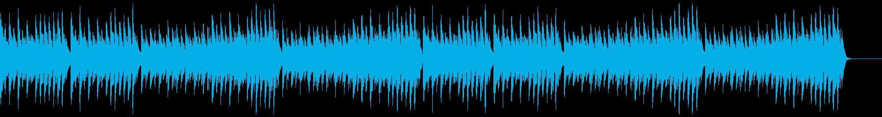 躍動的な『きらきら星』の再生済みの波形