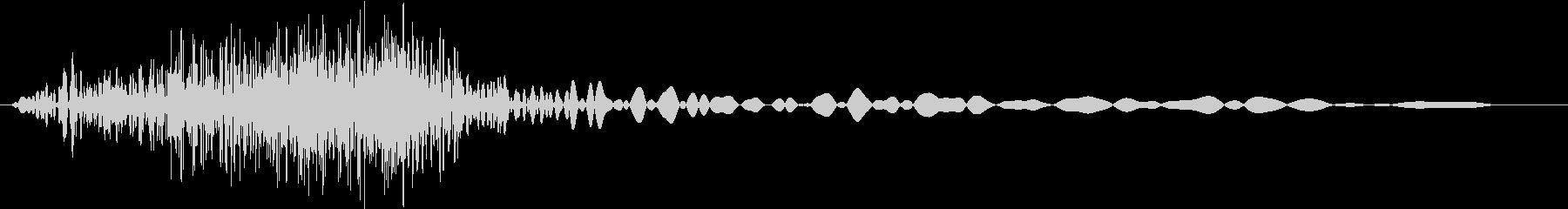 シューッという音EC07_87_4の未再生の波形