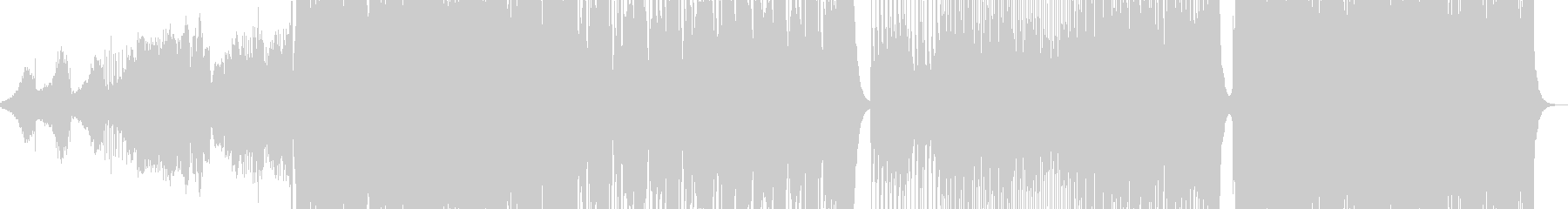 和風ダンス曲 三味線ソロ有りの未再生の波形