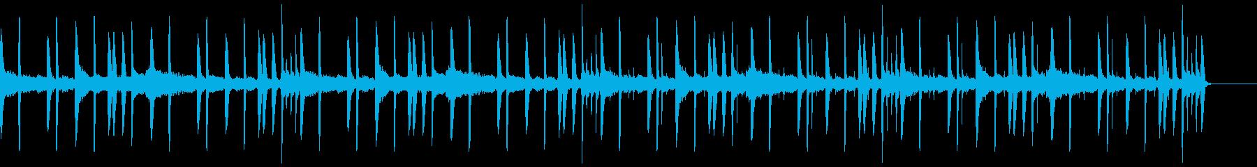シンプルなチルアウトの再生済みの波形