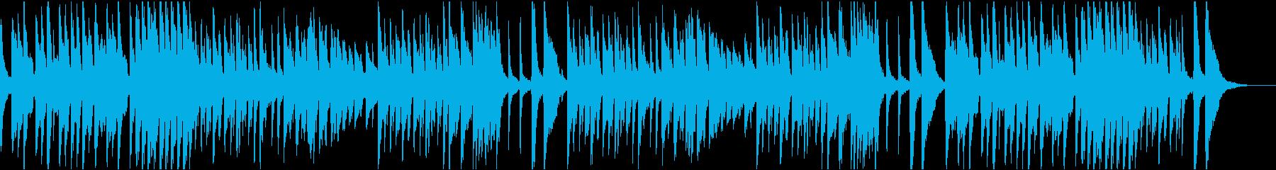 10秒でサビ、クラシックコミカル/静かめの再生済みの波形