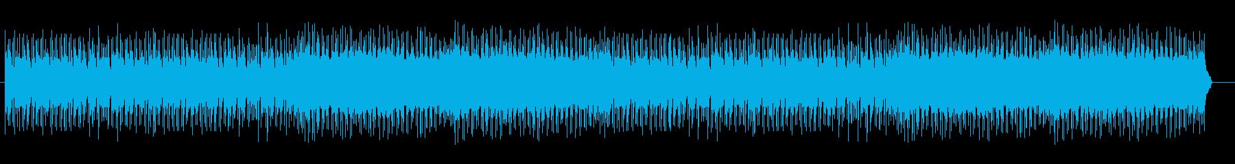 昔のシューティングゲームの2面ですの再生済みの波形