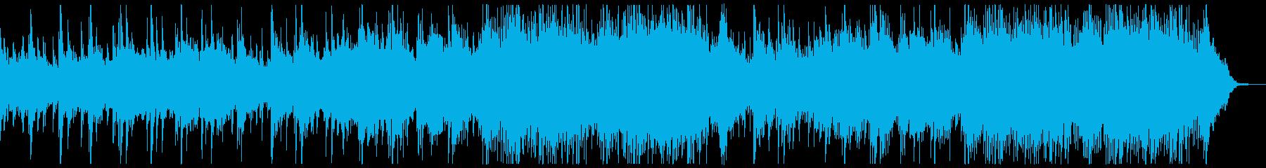 静かな切なさの感動的なシネマティクシンフの再生済みの波形