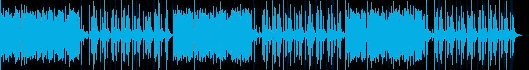 TikTokおとぼけ動画に可愛いアンデスの再生済みの波形