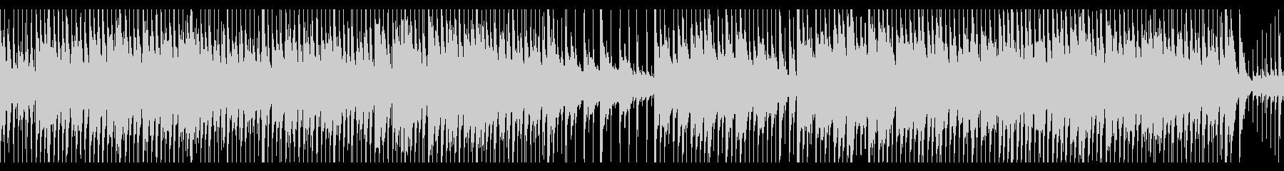 明るみと軽快みがあるジャズピアノの未再生の波形