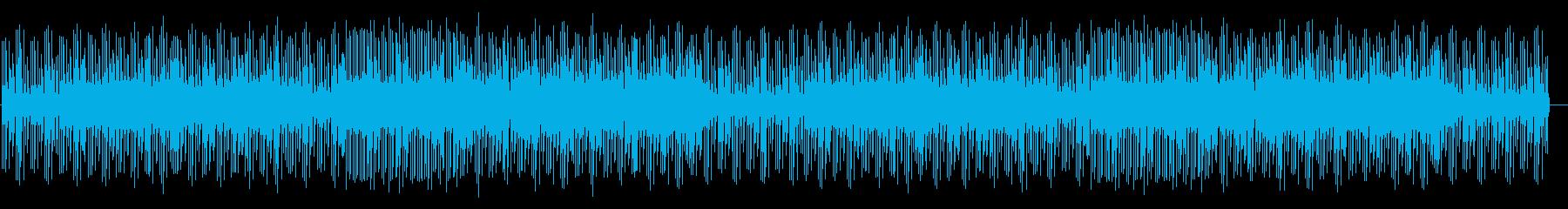 オセロで遊んでいる時のBGMの再生済みの波形