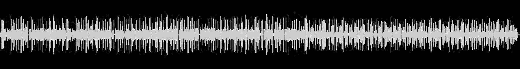 ビープ音-ビープ音シーケンスの攪拌の未再生の波形