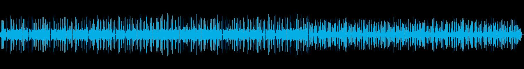 ビープ音-ビープ音シーケンスの攪拌の再生済みの波形