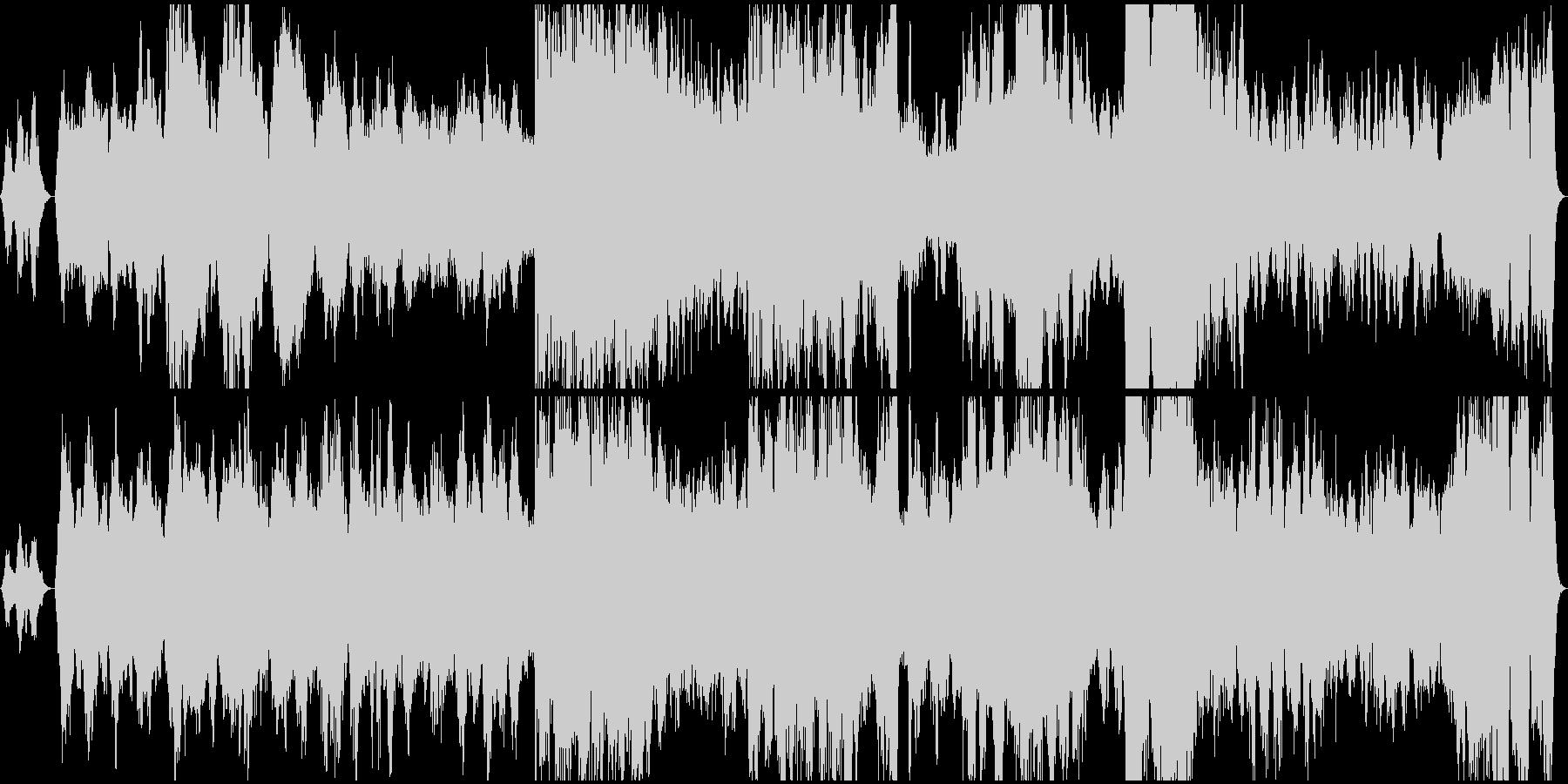 アイルランドとスコットランドの音楽の未再生の波形