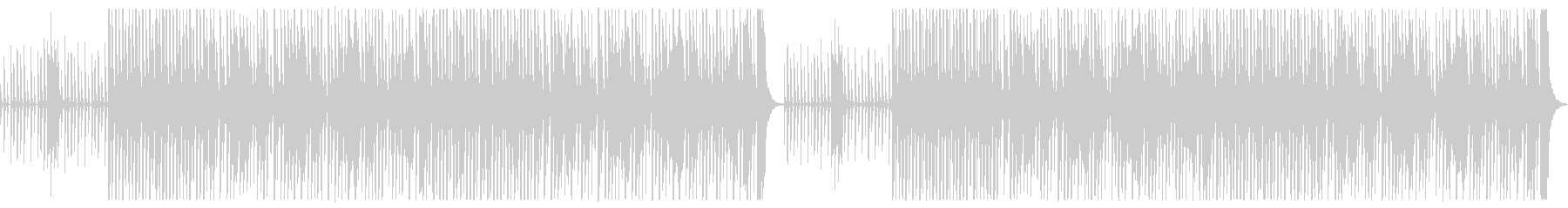 クラリネット中心、おどけた雰囲気の器楽曲の未再生の波形