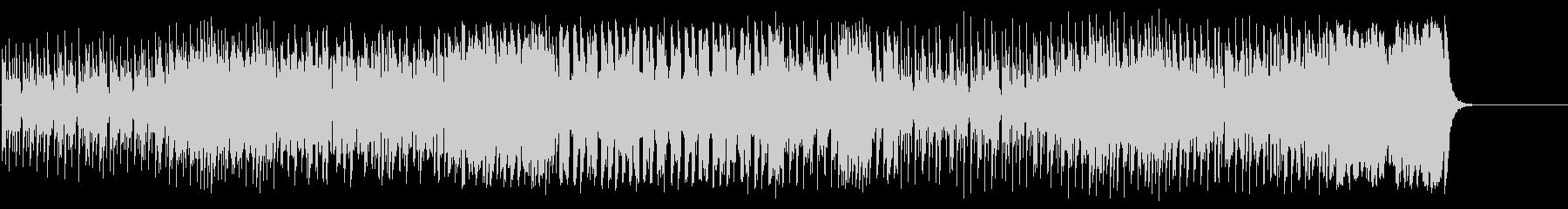どこかアニメ的な愛らしいコミカル・ポップの未再生の波形