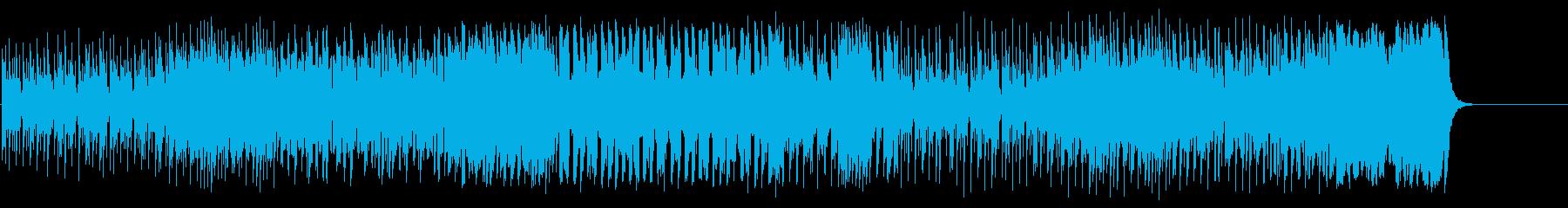 どこかアニメ的な愛らしいコミカル・ポップの再生済みの波形