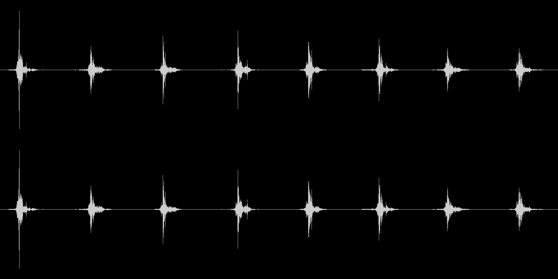 鳥 翼フラップ07の未再生の波形