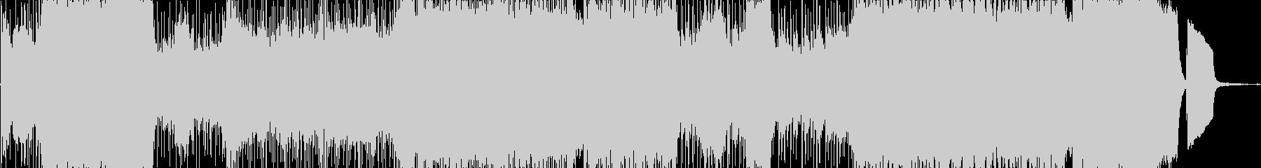 感動的なJPOPの未再生の波形