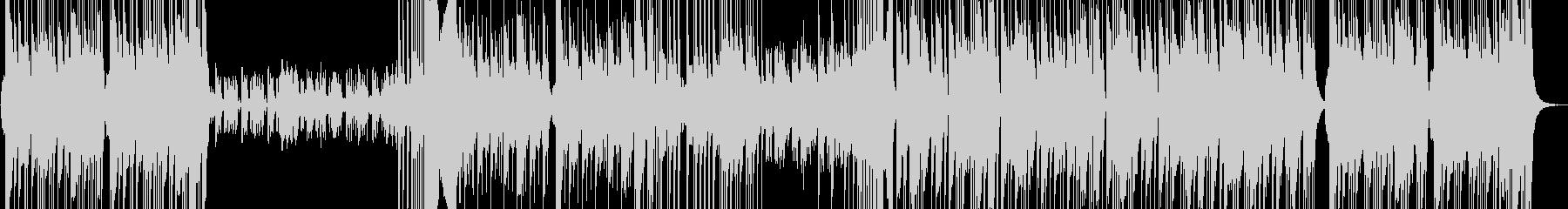 オーケストラ風の三拍子ミッドテンポの未再生の波形