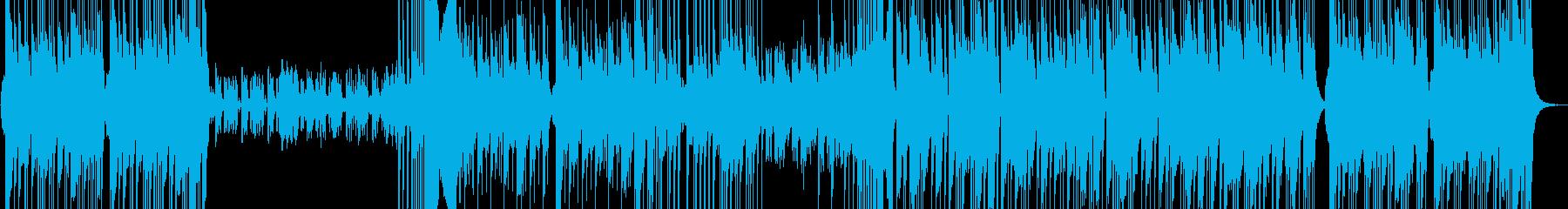 オーケストラ風の三拍子ミッドテンポの再生済みの波形