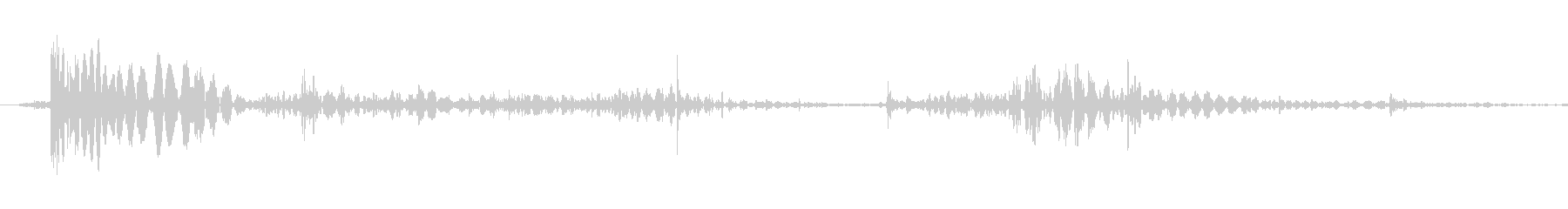 ボディフォール、さまざまなボディフ...の未再生の波形