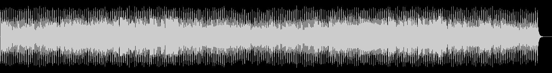 ミステリアスでコミカルなハロウィンBGMの未再生の波形