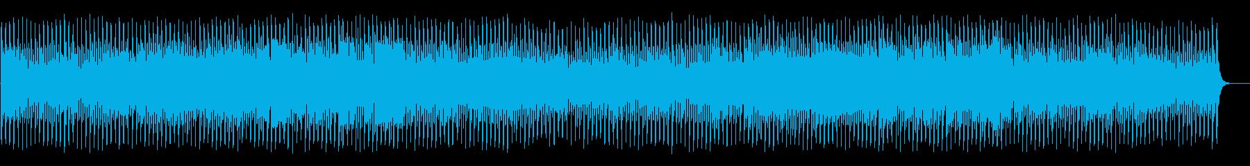 ミステリアスでコミカルなハロウィンBGMの再生済みの波形