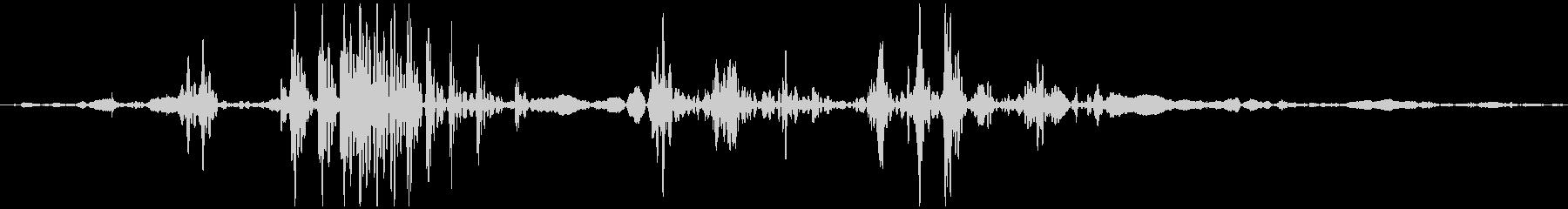 ゴクン 喉の音3の未再生の波形