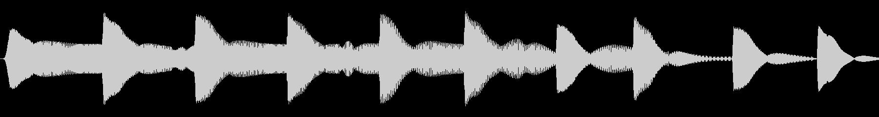 ピヨピヨ(ひよこ/混乱/ステータス異常)の未再生の波形
