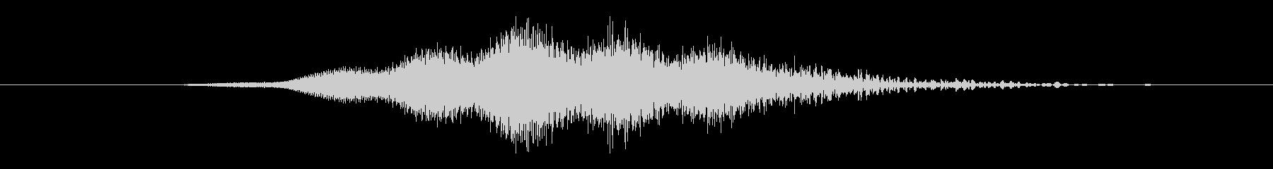 特撮 ホログラム表示08の未再生の波形