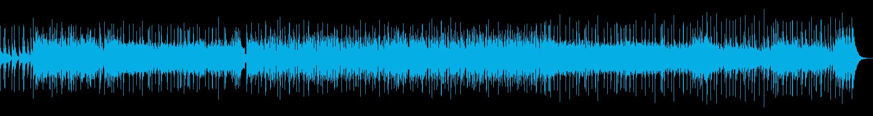 グルーヴ感あふれる軽快なDTMロックの再生済みの波形