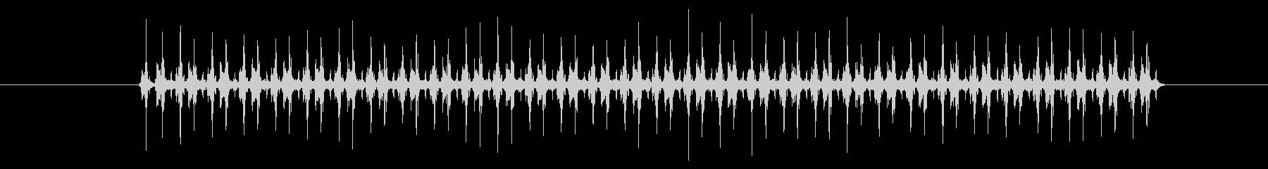 【録音】一眼レフの高速連写音の未再生の波形