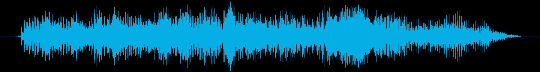 グラビティチューブ(濁り)ミヨヨッの再生済みの波形