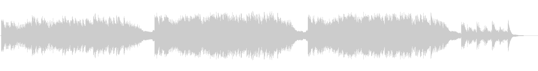 現代の交響曲 感情的 バラード く...の未再生の波形