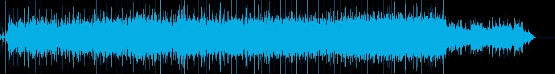 爽やかなアコギとピアノのBGMの再生済みの波形