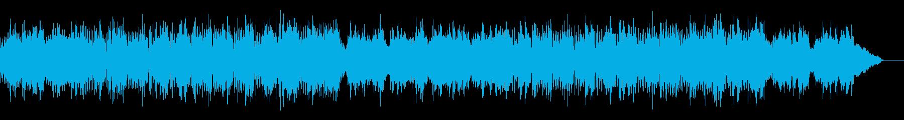 不思議で不穏な曲/クイズ/謎/ミステリーの再生済みの波形