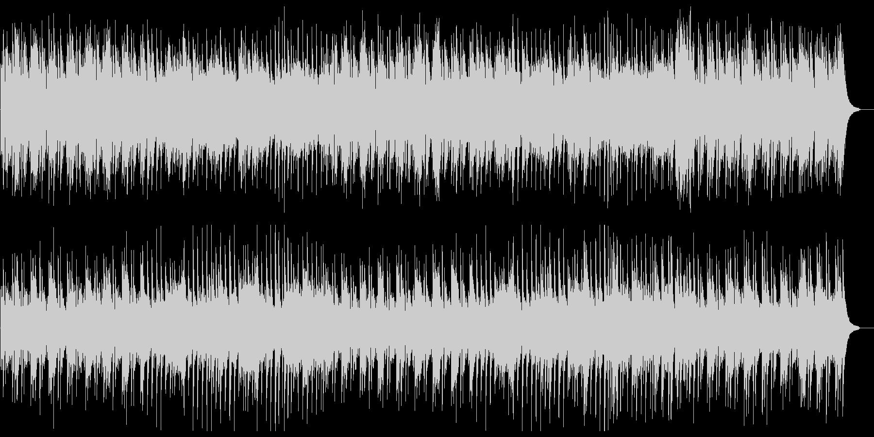 軽やかで爽やかなピアノサウンドの未再生の波形