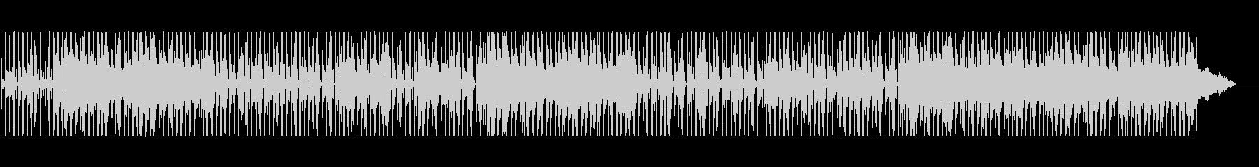 バンドっぽさを取り入れたスロービートの未再生の波形