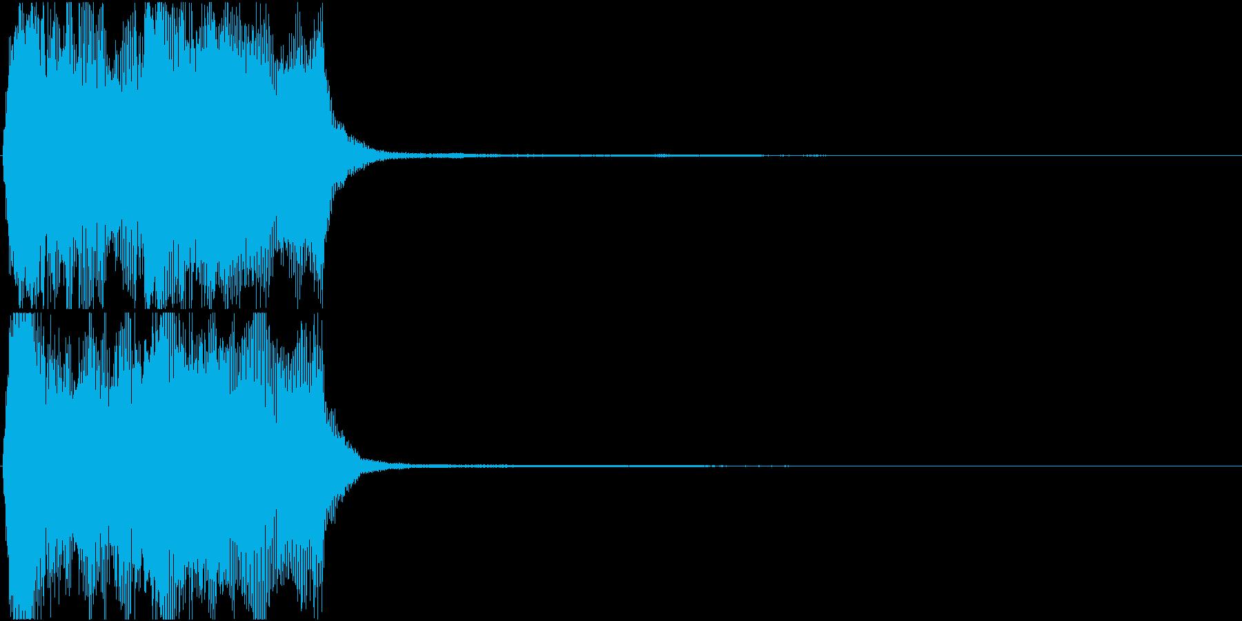 トランペット ファンファーレ 定番 7の再生済みの波形
