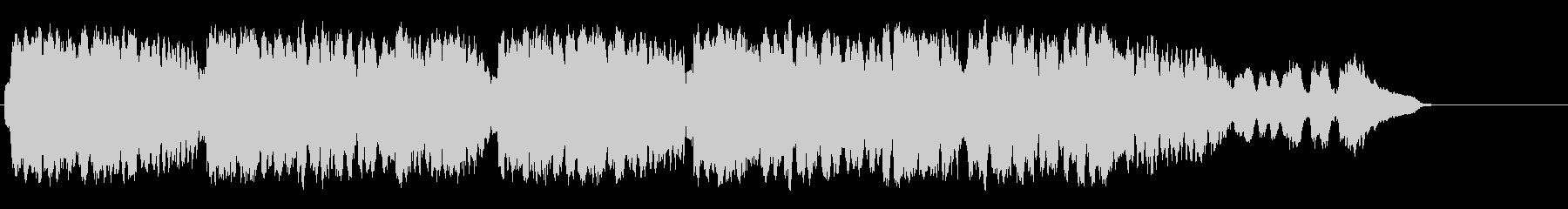西洋の古都のバロック調の流麗なクラシックの未再生の波形
