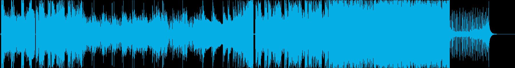 かっこ良くてクールなロックインストの再生済みの波形