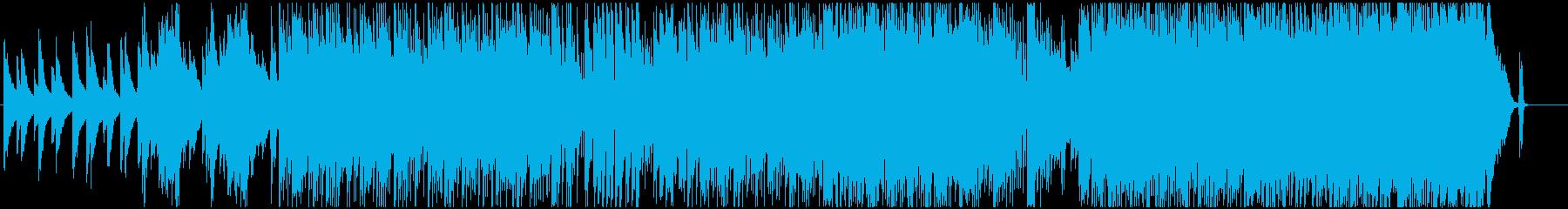 ピアノとバンドの爽やかなポップスの再生済みの波形