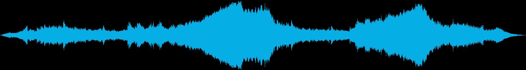 PADS 逆チャイム01の再生済みの波形