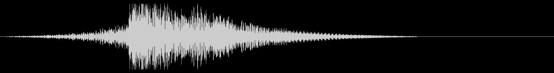 ホラー系アタック音111の未再生の波形