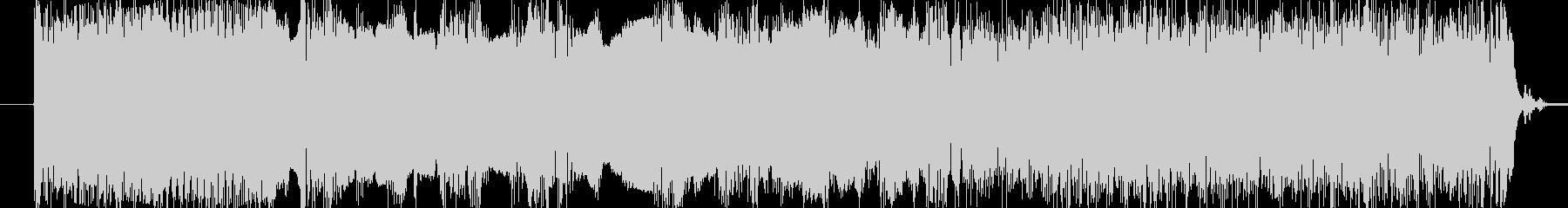 ヘビーなEギターサウンドの早弾きソロの未再生の波形