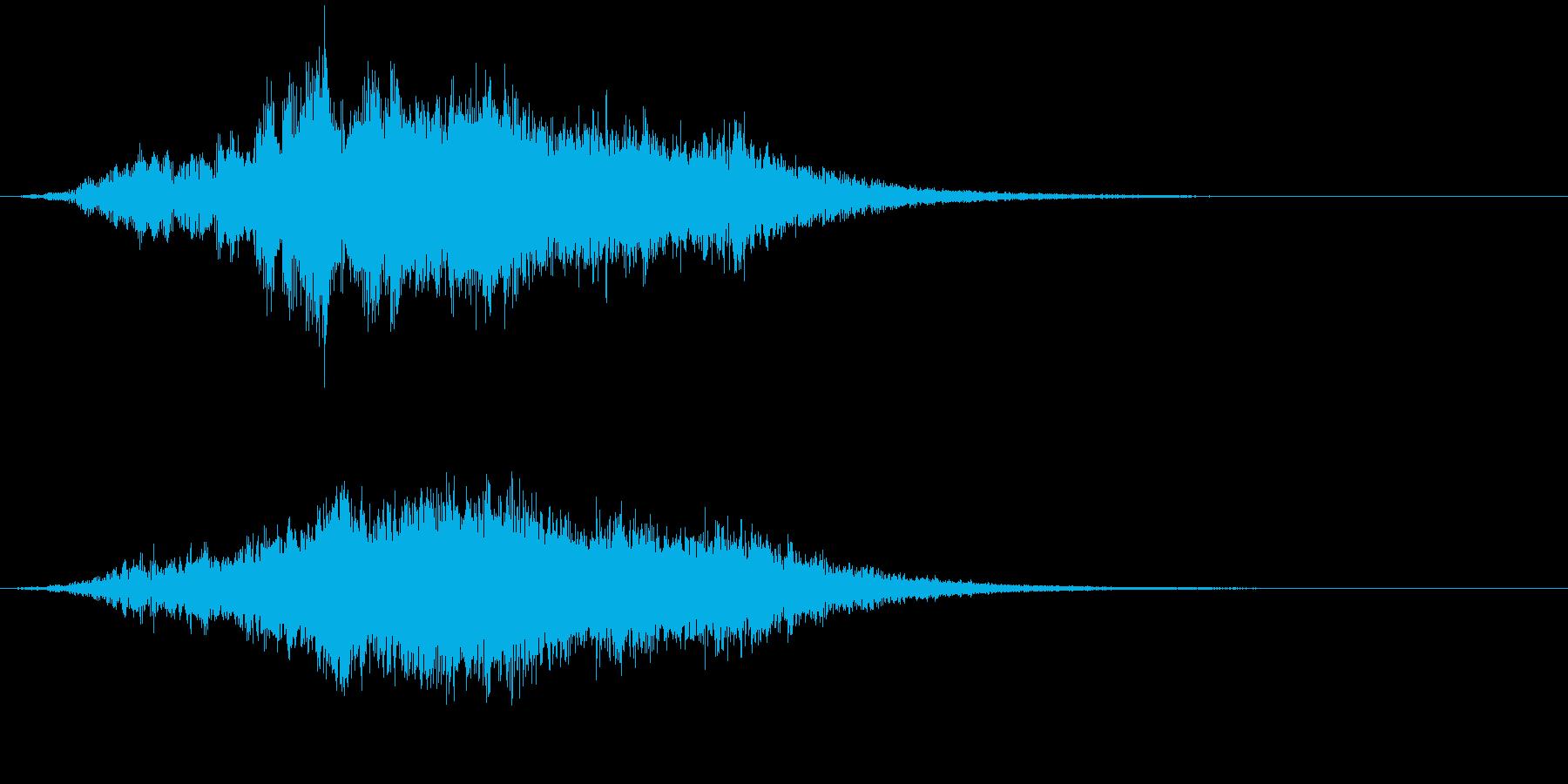 【映画・タイトル】ライザー_08の再生済みの波形